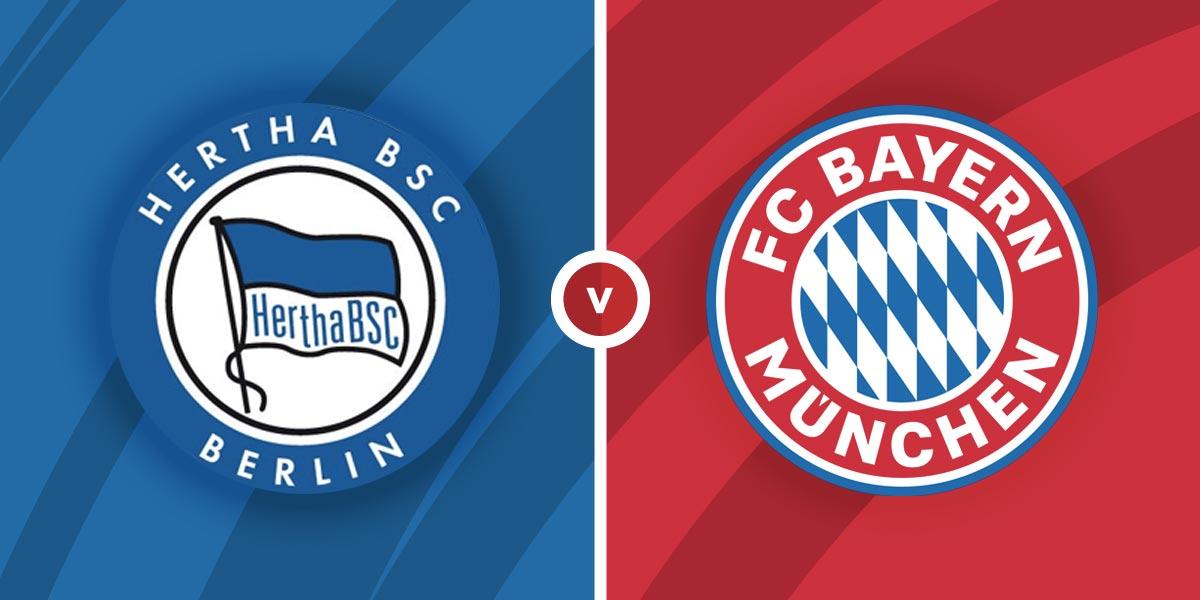 بث مباشر مباراة بايرن ميونخ وهيرتا برلين