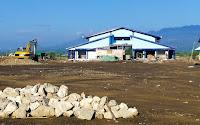 Bangunan Proyek Fisik Pasar Amahami Senilai Rp3,7 M, Terlihat Lebih Rendah dari Jalan