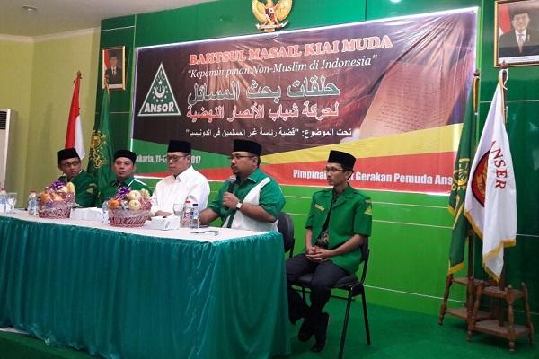 "Meluruskan Kabar ""Bahtsul Masail GP Ansor Menyalahi Muktamar NU Lirboyo"""
