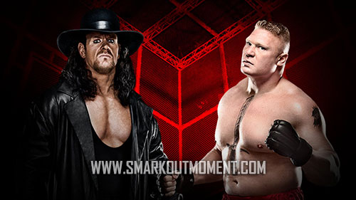 WWE Hell in a Cell 2015 PPV Undertaker vs Lesnar match