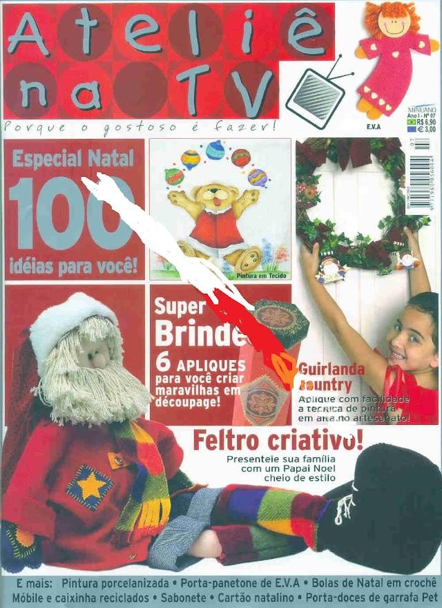 Feltro Especial DE Natal -Atelie Na TV