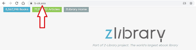official website Z-library