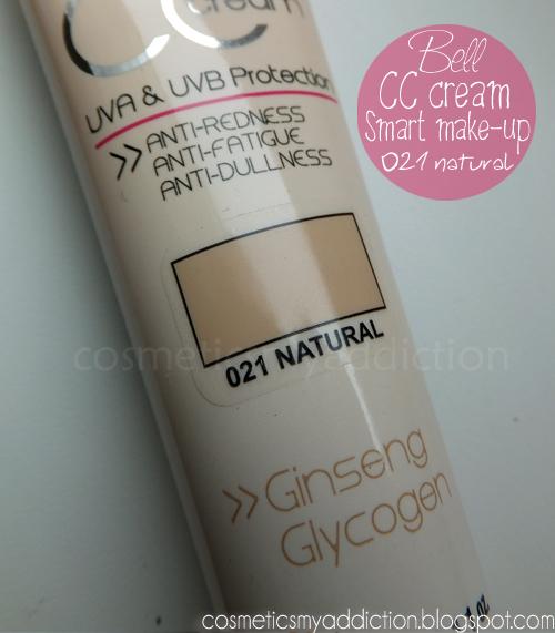 Bell, CC cream smart make-up.