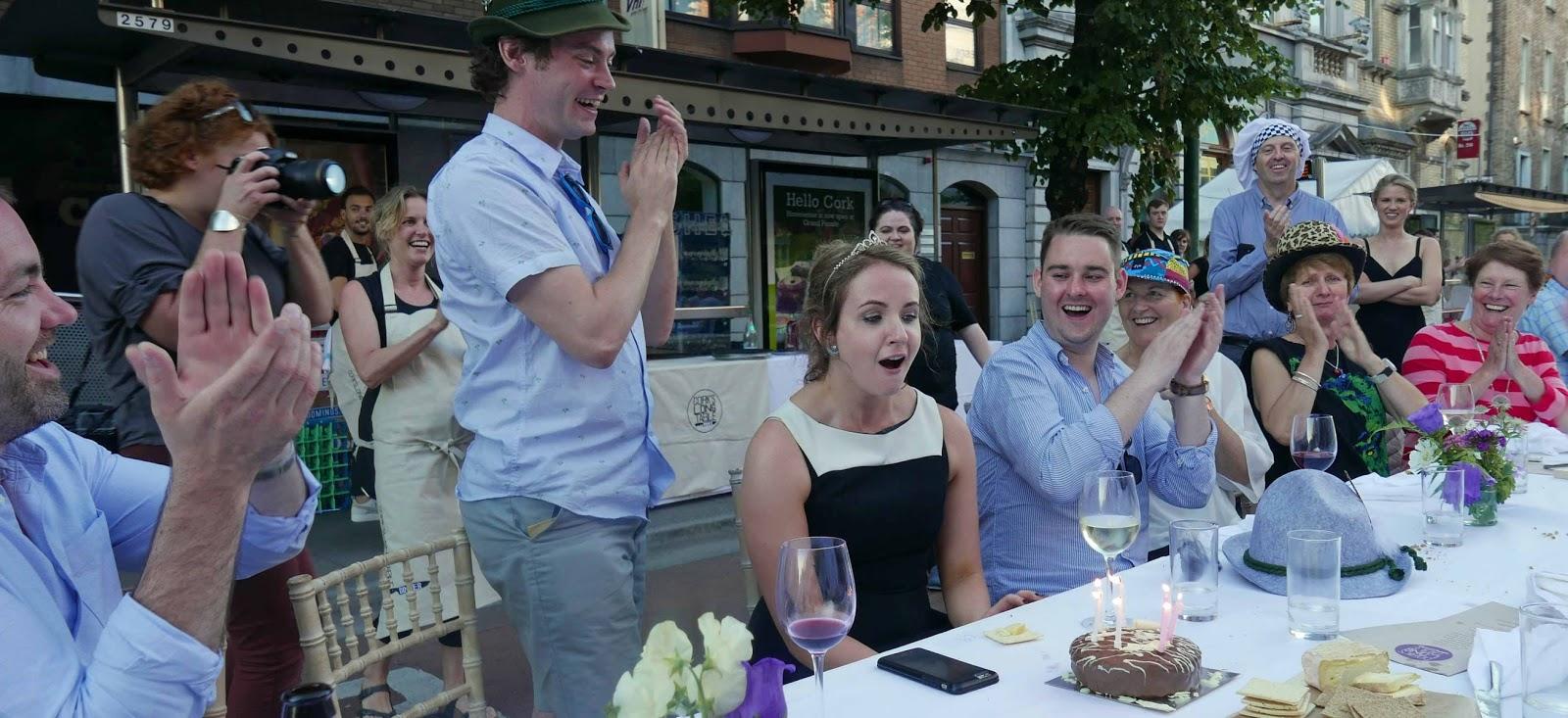 bord failte cork ~ restaurants and food night of the long table four