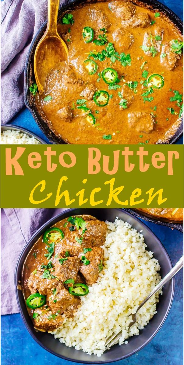 Keto Butter Chicken #Dinnerrecipes