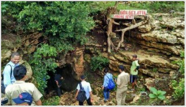 Goa Gelatik Lorong Sewu;10 Top Destinasi Wisata Gunung Kidul