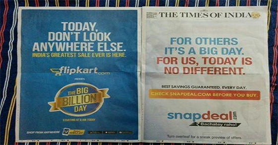 flipkart vs snapdeal jokes