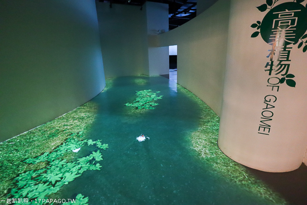 高美濕地遊客中心互動體驗區