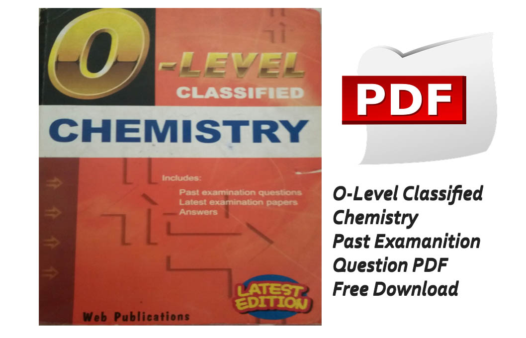 O Level Classified Chemistry Book PDF Free Download