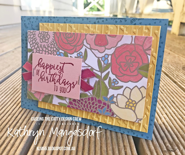 Stampin' Up! Picture Perfect Birthday created by Kathryn Mangelsdorf