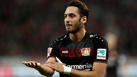 Mùa giải 2016 - 2017 đã chính thức kết thúc đối với cầu thủ Hakan Calhanoglu.