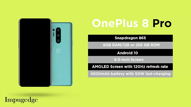 OnePlus 8 Pro Specifications, Features