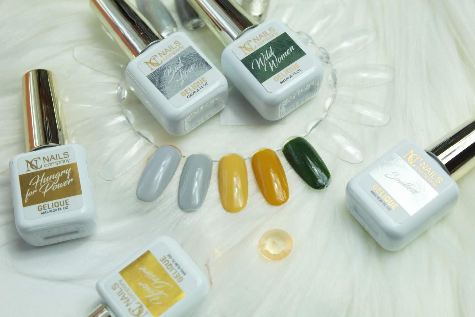 FEMINITY - kolekcja lakierów hybrydowych od NC Nails Company