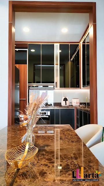 Interior Desain Rumah Tinggal Lampung