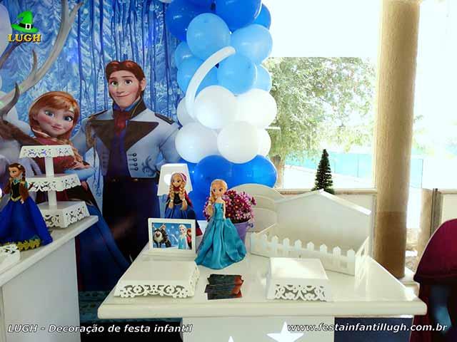 Decoração Frozen - festa infantil feminina
