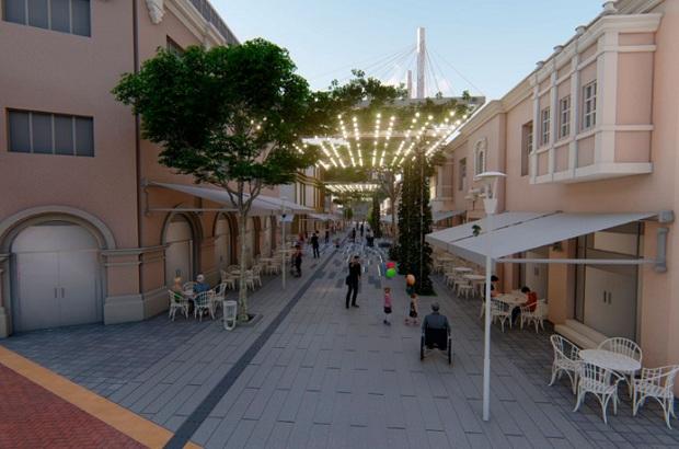 Miraflores inicia construcción de boulevard inclusivo en calle de las Pizzas