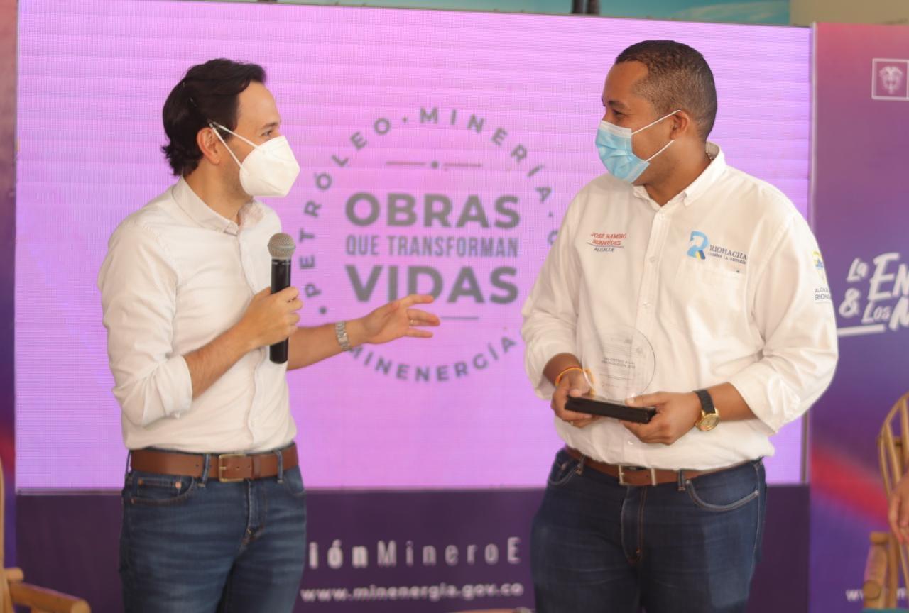 hoyennoticia.com, Minminas reconoce buen uso de regalías en Riohacha