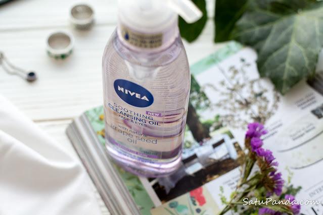 Nivea Soothing Cleansing Oil гидрофильное масло отзыв