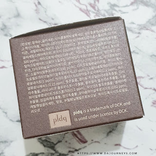 Review PLDQ Aquaporin Water Cream