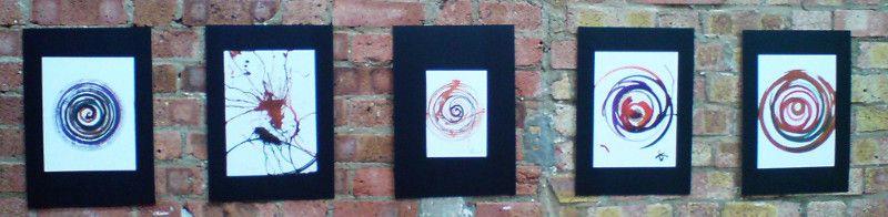 Exposición de pinturas: giros