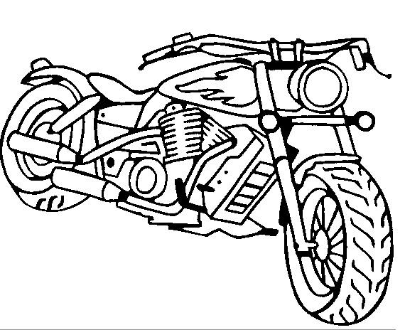 moto à colorier en ligne