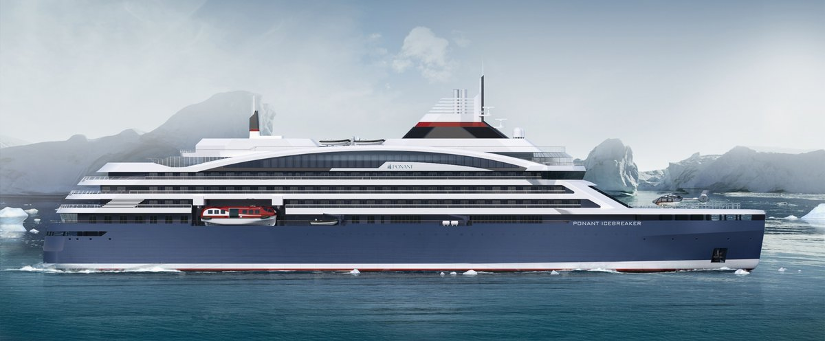 Dicovery Deluxe PONANT Ordered A First Of A New Class Of Luxury - New luxury cruise ships