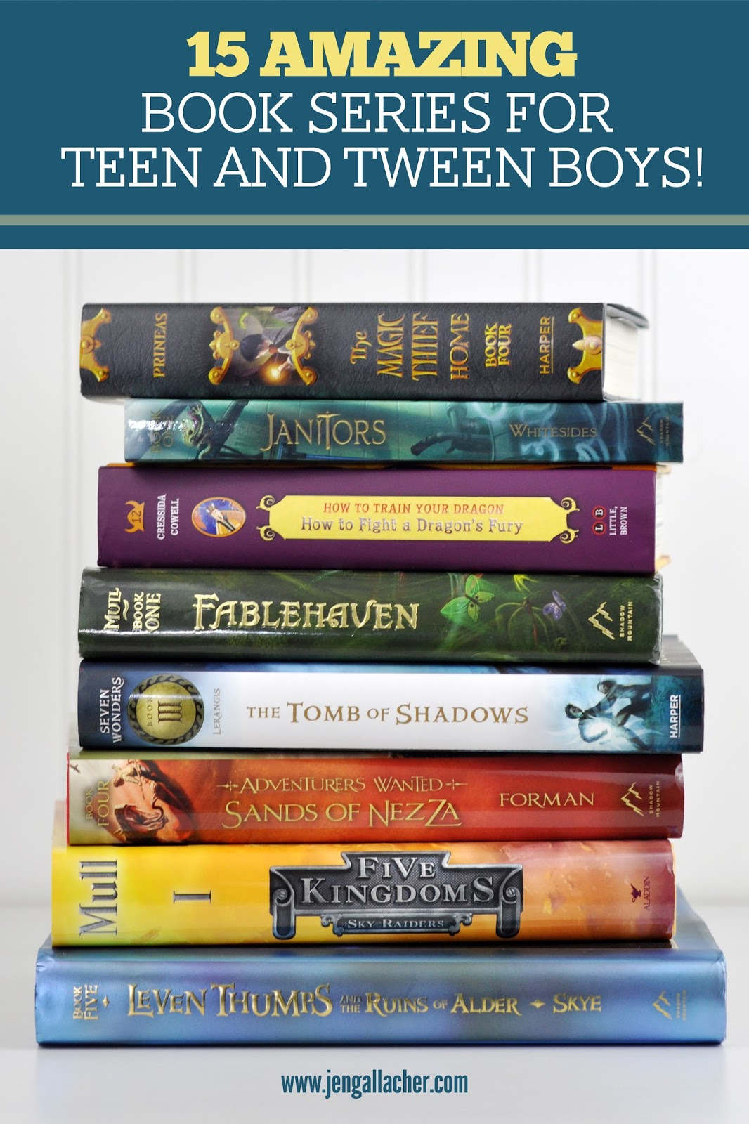 Young Teen Fiction Books