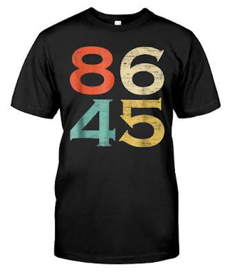 86 45 Vintage Style Anti Trump T SHIRT HOODIE SWEATSHIRT. GET IT HERE