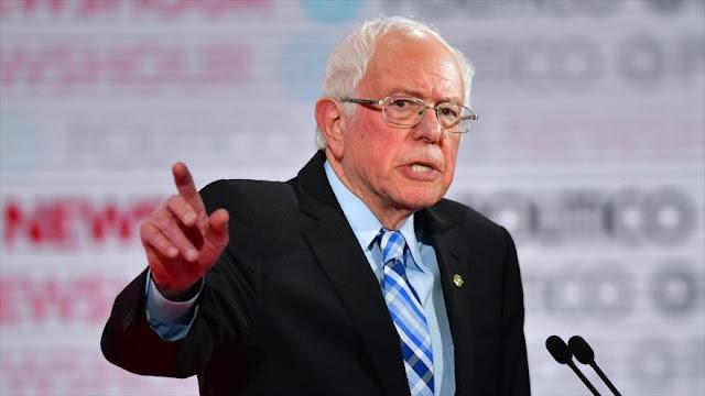 Sanders: Netanyahu es un racista y no debe ser apoyado por EEUU