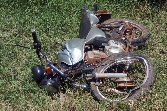 Iretama: Motociclista fica ferido em acidente na PR-462