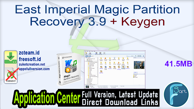 East Imperial Magic Partition Recovery 3.9 + Keygen_ ZcTeam.id
