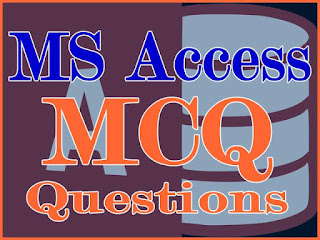 Some More Database and MS Access MCQ Question Collection