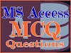 MS Access MCQ Collection Question #1 to #50
