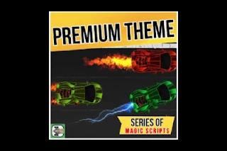 Nitro Type Premium Theme - Auto Stickers