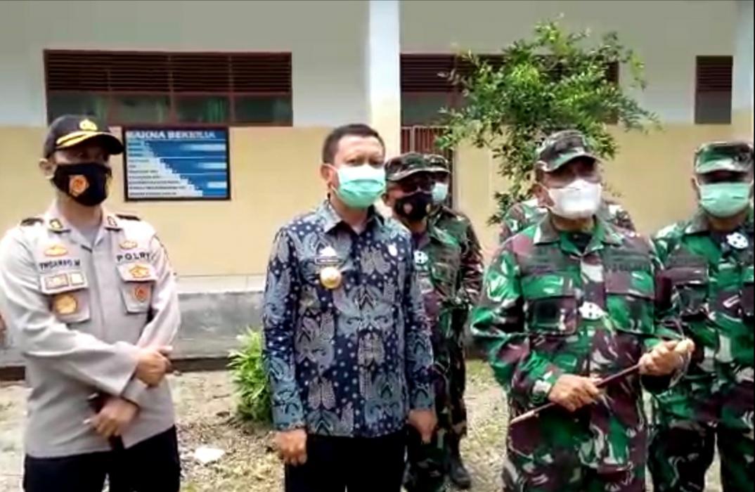 Lokasi Markas Komando Pangkalan Angkatan Laut di Selayar Ditinjau Danlantamal VI Makassar