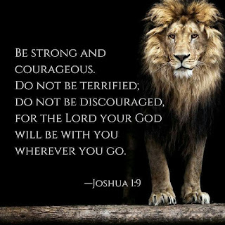 Our Daily Bread (ODB) Devotional: 25 October 2020 - Strong And Courageous
