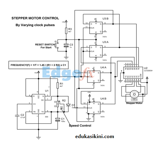 kontrol motor stepper