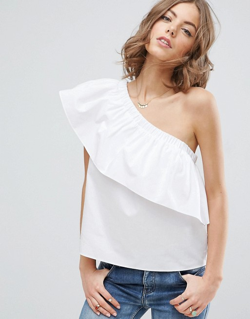 8579ebfed53 There are a lot of different one shoulder tops that ASOS carries