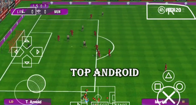 FIFA 20 PPSSPP Camera PS4 Android