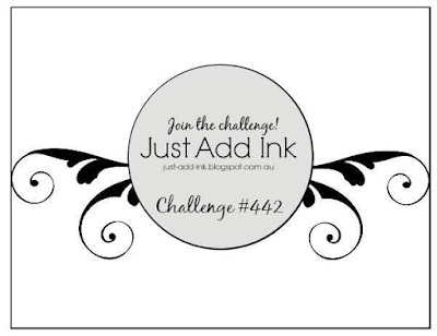 Jo's Stamping Spot - Just Add Ink challenge #442