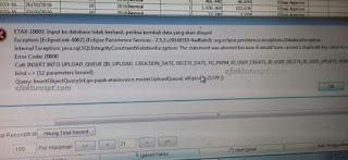 e-Faktur Error ETAX-10003 input ke database tidak berhasil, periksa kembali data yang akan diinput