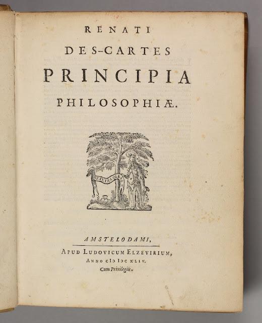 Principia philosophiae - Komposisi interior bumi