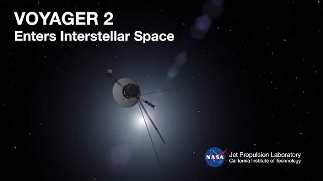 Зонд NASA спустя 41 год, вышел в межзвездное пространство нашей галактики (Видео)