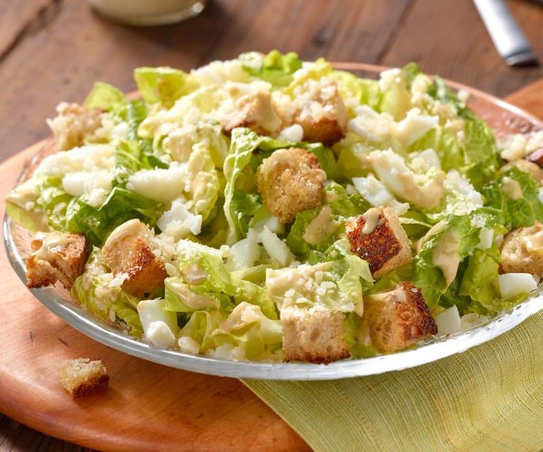 How the Turkish Caesar salad works