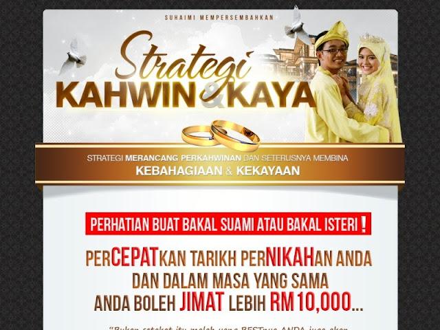 strategi kahwin dan kaya