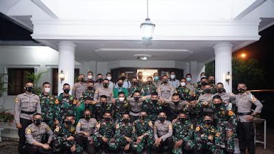 Wali Kota Tebingtinggi Terima Kunjungan Malam Silaturahmi Peserta Latsitardanus