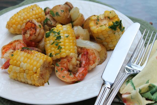 Shrimp in Foil Dinner