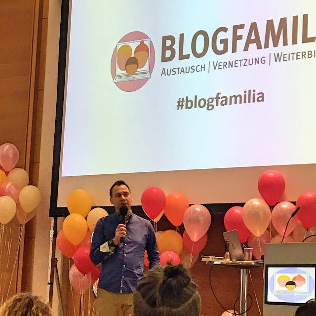 Keynote Speaker Fitzek auf der Blogfamilia 2019