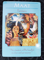 Maat from The Goddess Guidance Oracle