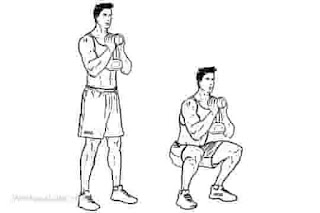 1. Dumbbell Goblet Squat